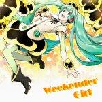 kz & Hachioji-P feat. Miku Hatsune - Weekender Girl